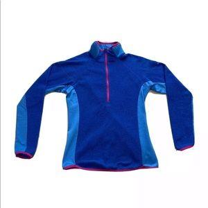 Columbia Omni-Wick 1/2 Zip Fleece Sweater Jacket